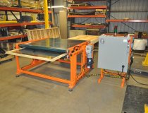 Window Sash Flipper Efficiently Feeds and Rotates Window During Production