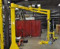 Pneumatic Manipulator - 10 ft Reach with Custom Vacuum End-Effector