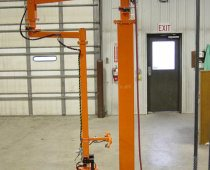 Pneumatic Lift Assist With Clamp End-Effector