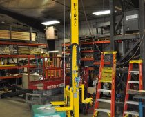 UltiRail Pneumatic Manipulator - Lifts 300 lb. Generator