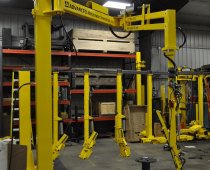 UltiBalance Pneumatic Manipulator - 10 ft. Horizontal Reach Handles 75 lb. Metal Segments