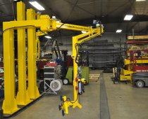 UltiMate Balance Pneumatic Manipulator -12 ft Horizontal Reach, Lifting 100 lb. Window Panels