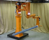 Pneumatic Manipulator Arm For Roll Handling