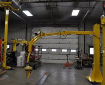 UltiMate Pneumatic Manipulator - Variable Speed Custom End-Effector With 9 ft Reach, 400 lb. Capacity